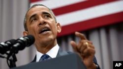 Prezident Barak Obama Amerika universitetida so'zlamoqda, 5-avgust, 2015-yil