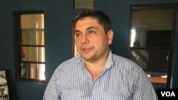 Eliseo Núñez, analista político. Managua, Nicaragua. Foto: Daliana Ocaña, VOA.