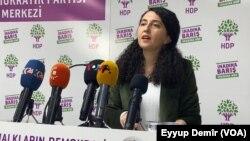 parlementerê HDP'ê Ebru Gunay