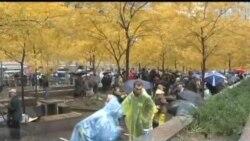 占领华尔街示威者拟举行大规模集会