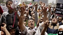 Prizor sa demonstracija u Egiptu