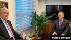 ABD'nin Ankara Büyükelçisi David Satterfield ve Volkan Bozkır