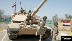 Les forces irakiennes