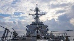 美海軍駁斥中國所說的從有爭議的帕拉薩爾群島驅趕美軍戰艦的指稱