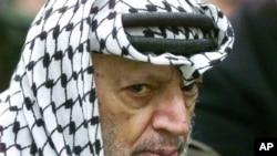 Cựu Chủ tịch Palestine Yasser Arafat.