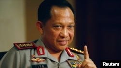 Kepala Kepolisian Republik Indonesia, Jenderal Tito Karnavian (Foto: Reuters).
