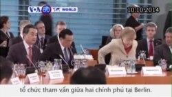 Thủ tướng Đức, TQ tổ chức tham vấn giữa 2 chính phủ