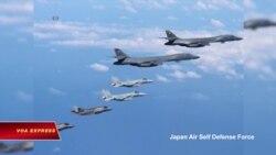 Máy bay Mỹ, Nhật, Hàn vần vũ trên bán đảo Triều Tiên