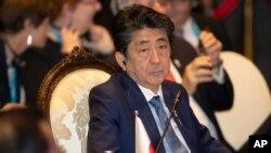 日本安倍首相