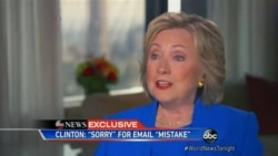 Clinton Apology