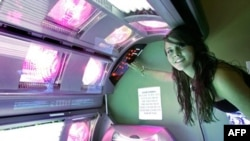 This Florida teenager has been using tanning beds since she was 14 years old, despite the health risks.