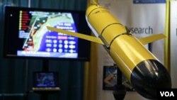 美國海軍無人潛航器(資料圖片)