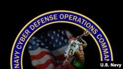 美国海军网络防御司令部徽章(美国海军提供)