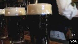 Las ventas internacionales de cerveza estadounidense aumentaron en un tercio (un 28%), durante 2010.