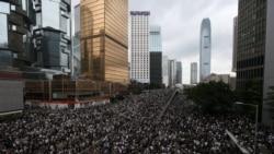 香港警方在民主示威兩週年紀念日逮捕至少三名抗議者