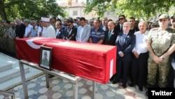 Asker Barış Aybek'in Malatya Doğanşehir'deki cenazesi