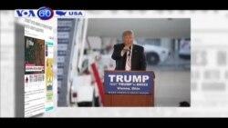 Giọng điệu kích động của ông Trump dịu bớt (VOA60)