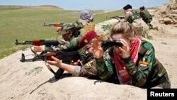 جنگجویان زن کردهای عراقی