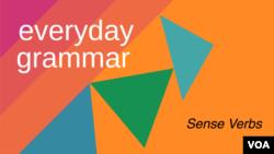 Everyday Grammar: Sense Verbs