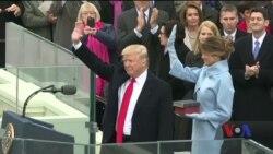 Ось яким був перший рік роботи Дональда Трампа в ролі президента. Відео