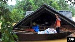 Tư liệu - Lũ lụt tại Hà Tĩnh, Việt Nam.