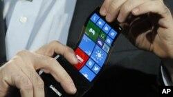 La misma tecnología utilizada en los teléfonos de pantalla flexible podría utilizarse para nuevos aparatos inteligentes.