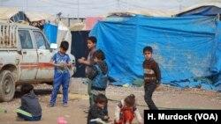 Potret kemiskinan yang ekstrem di kamp pengungsian Irak, 28 Februari 2018 di Haj Ali, Irak, sebagai ilustrasi. (Foto: VOA/Murdock)