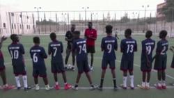 Au Caire, une académie de foot pour jeunes réfugiés