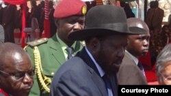 Le président Salva Kiir du Soudan du Sud