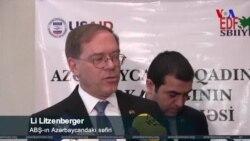 Li Litsenberger: Sanksiya məsələsində Azərbaycanla əməkdaşlığımızdan çox məmnunuq