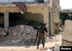 Dera'da bir ÖSO askeri