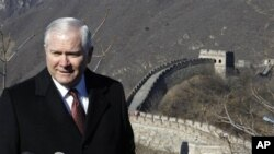 Defense Secretary Robert Gates in China