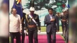 Tổng thống Philippines thăm Nhật Bản, bàn về tranh chấp với Trung Quốc