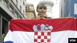Los croatas votaron el domingo en favor de ingresar a la Unión Europea.
