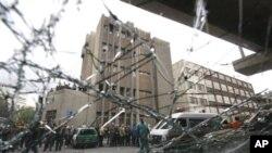 شام: خودکش حملہ