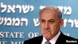 အစၥေရးလ္ ဝန္ႀကီးခ်ဳပ္ Benjamin Netanyahu။