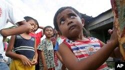 馬來西亞沙巴州沒有戶籍的孩子(資料照片)