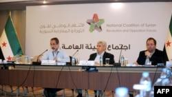 敘利亞反對派組織全國聯盟在土耳其開會