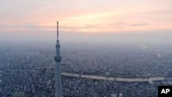 일본의 수도 도쿄 전경 (자료사진)
