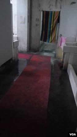 苹果代工厂上海昌硕科技的洗澡间