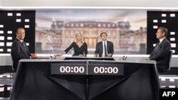 مناظره سارکوزی و اولاند در آستانه دور دوم انتخابات فرانسه برگزار شد
