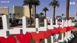 Американец поставил 58 крестов в честь жертв стрельбы в Лас-Вегасе