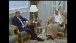 克里尋求沙特阿拉伯支持敘利亞停火