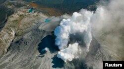 Cơ quan Khí tượng Nhật Bản nói không có ai bị thương sau khi núi lửa phun trào vào khoảng 10 giờ sáng hôm nay, thứ Sáu.