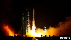 Tên lửa Trường Chinh II-F, một trong nhóm tên lửa Trường Chinh của Trung Quốc.