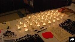 香港多個宗教團體舉辦燭光晚會悼念西藏314血腥鎮壓4周年