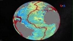 Dùng dữ liệu không gian để lập địa đồ đáy đại dương