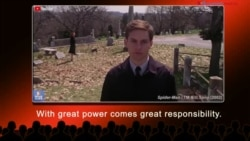 English @ the Movies: With great power comes great responsibility