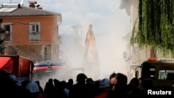 24일 지진으로 큰 피해를 입은 이탈리아 중부 아마트리체에서 25일에도 여진이 이어졌다.