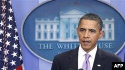 Президент США Барак Обама. Белый дом. Вашингтон. 29 октября 2010 года